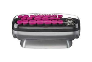Conair Xtreme Instant Heat Multi-Size Hot Rollers with Heated Clips