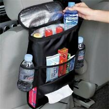 Auto Car Back Seat Organizer Holder Multi-Pocket Travel Storage Bag Hanger Black
