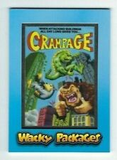 2018 Topps Wacky Packages Patch Card MP-1 CRAMPAGE limited edition #05/99 nm+