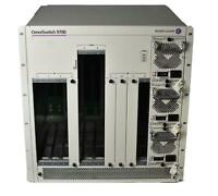 Alcatel OmniSwitch 9700 Switch 8-Slot Chassis OS9700 with 3x 725W Power Supplies