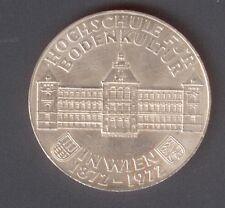50 chelines 1972, Viena, escuela superior de cultura de suelo, 100 años (plata/900)