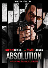 Absolution [DVD + Digital] DVD, Dell, Howard, Mann, Byron, Jones, Vinnie, Seagal