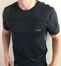 Hugo Boss T Shirt Top Men's Size XL Navy Blue BNWT NEW