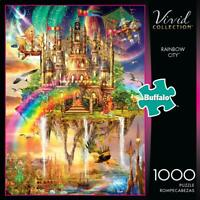 Buffalo Games Vivid Collection Rainbow City 1000 Piece Jigsaw Puzzle