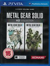 Metal Gear Solid HD Collection, PS Vita game complete, Used