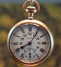 Waltham Vanguard 16s 23J, circa 1937 Pocket watch
