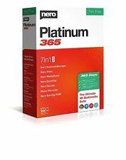 NERO PLATINUM 365 PC SOFTWARE