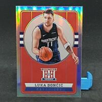 Luka Doncic Chronicles Home Town Heroes Silver Parallel NBA Card 2019-20 Panini