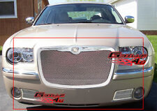 Fits 05-10 Chrysler 300C Stainless Steel Mesh Grille Combo