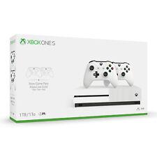 Новый Microsoft Xbox One S комплект 1 ТБ с 2 контроллерами и 1-месячный Game пропуск