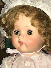 "Vintage Rare Huge Madame Alexander Doll ""Bonnie Toddler"" Beautiful! 25"""