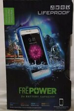BRAND NEW Lifeproof Fre Power Battery Charging Case For iPhone 6s Plus 6 + Blue