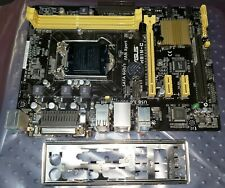 ASUS H81M-C Motherboard w/ IO port cover *tested*