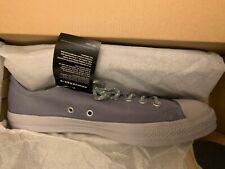 Converse CHUCK TAYLOR ALLSTAR OX Gray Leather 157586C Grey Size 9.5 Grey