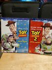Toy Story 1-3 Trilogy Blu-ray/DVD Lot Of 3, With Slipcovers on 1 and 2.