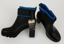 NWT SOREL Women's Size 10  Heel Boots Black Hyper Blue Rain Waterproof