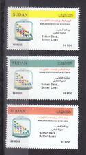 stamps SUDAN 2015 WORLD STATISTICS DAY MNH SET # 50