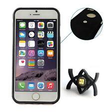 Tetrax XCase Case Cover Smart Dash Mount Airvent Bundle for iPhone 6 Plus Black