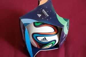 Adidas Fussball Brazuca offiz. Matchball WM 2014 Größe 5 Fußball NEU Umkarton