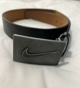 Men's Genuine Leather Nike Golf Belt