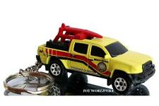 Custom Key chain '13 TOYOTA Tacoma Beach Patrol Pickup Truck yellow