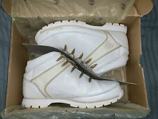 Timberland Boots Euro Sprint White MM EU 45, US 11, UK 10.5, Excellent Condition