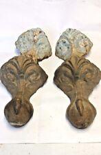 Antico Ghisa Palla e artiglio piedi