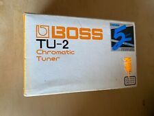 Boss Chromatic Tuner Tu-2 new old stock