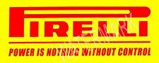 Pirelli Racing Tires High Quality Metal Magnet 2 x 5 inches Kitchen Fridge  9304