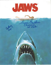 Jaws 1st Victim autographed 8x10 photo Take A Dip added
