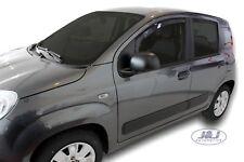 SET 2 DEFLETTORI ARIA  ANTITURBO per  FIAT PANDA III 5 PORTE  2012- ad oggi