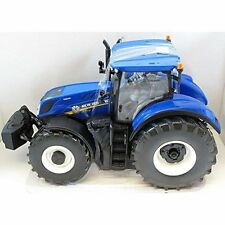 Britains 43149a1 Holland T7.315 Tractor Diecast Farm Model Boxed Blue
