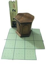 dollhouse miniatures Wood Side Table 1980s