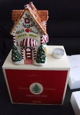 """NEW IN OPENED BOX SPODE CHRISTMAS TREE 7"""" SWEET SHOP VOTIVE"""