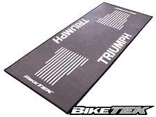 TRIUMPH GREY MOTORCYCLE GARAGE MAT WORKSHOP NON-SLIP BACKING PIT MAT