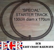G SCALE RAILWAY RAIL 45mm GAUGE PLASTIC TRACK NOT ROLLING STOCK, COACH TRAIN SET