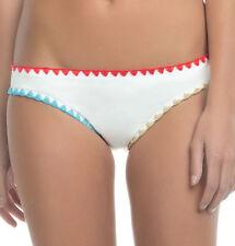 NEW Lucky Brand Night Dreamer Basic Hipster Bikini Bottom White Multi XS XSmall