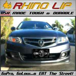 Acura TLX TSX RLX ILX NSX RL Front Apron Valance Under Spoiler Splitter Chin Lip