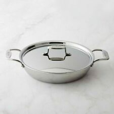 All-Clad d5 5-ply Stainless-Steel Non-stick 4-Qt All-In-One Pan with lid