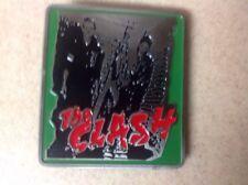 The Clash Punk Rock Band Metal/Enamel Belt Buckle Licensed 2005