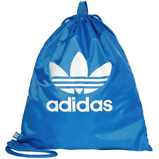 2017 adidas Gymsack Trefoil Backpack Sports Ashes Unisex Bag Top Listing) BJ8358 Blue