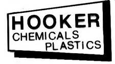 Hooker Chemical Adhesive Sticker for American Flyer S Gauge Scale Trains Parts