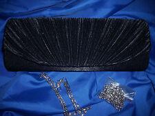 Unifarbene Damentaschen aus Satin mit Magnetverschluss