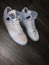 Nike Air Jordan 1 Flight 4 Prem White Silver Mens Sz 12 838818-122