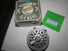 "vintage shakespeare youngs condex  trout fly fishing reel 3.5""  + box"