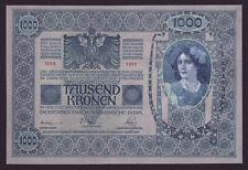 AUSTRIA - HUNGARY  -  1000 kronen,1902  -  P 8b - UNC