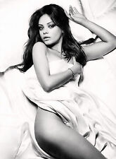 MILA KUNIS A4 260gsm  POSTER PRINT