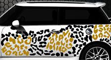 Leopard Pixel Cyber Camouflage XXL Set Auto Aufkleber Sticker Stylin Wandtattooc
