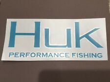"Huk Fishing 8"" Vinyl Decal Light Blue (Other Colors Available)"