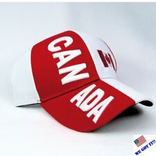 "NEW "" CANADA COLORS ""  FLAG MULTI COLOR BASEBALL CAP/HAT-ADJUSTABLE BACK"